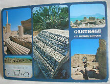 Carte postale Carthage Tunisie Les Thermes d'Antonin  Editions Tanit