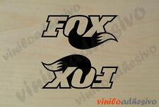 PEGATINA STICKER VINILO Fox ref2 horquilla aufkleber autocollant adesivi