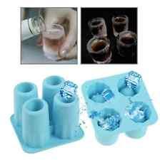 Silikon Eiswürfelform Glas Eiswürfelbereiter Backform Eiswürfelschale ICE SHOT