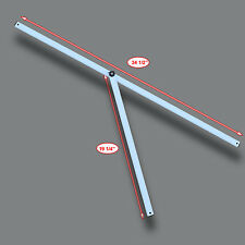 Ozark Trail Slant Leg First Up 9'X9' Canopy Gazebo Metal 2 PEAK TRUSS Bars Parts