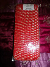 BRAND NEW IN PACKET RED FISHNET TIGHTS ONE SIZE
