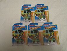 Hot Wheels 2012 New Models Scooby Doo Mystery Machine #38/50 #38/247 Lot of 5