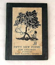 Fifty New Poems for Children  Tolkien Goblin Feet [1922] Lord Rings Hobbit Rare
