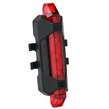 Top Hot USB Rechargeable LED Waterproof  Mountain Bike Taillight Warning Lights