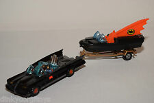 CORGI TOYS GIFTSET 3 GIFT SET 3 GS3 GS 3 BATMOBILE WITH BATBOAT EXCELLENT RARE