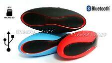 MINI CASSA MISURA 15X6 CM PORTATILE SD USB BLUETOOTH MP3 SMARTPHONE ALTOPARLANTE