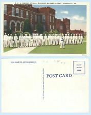 Company at Drill Cadets Riverside Military Academy Gainesville Georgia Postcard