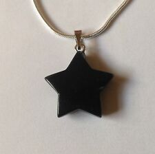 Bowie BLACKSTAR Real Onyx Necklace