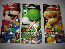 NIP SUPER MARIO DOG TAGS DOGTAGS 3 PACKS I SHIP EVERYDAY LOOK FOR THE GOLD TAGS