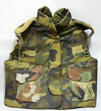 U.S. Army Flak Vest Body Armor Woodland Camo Pattern Size Large, Vietnam Era?