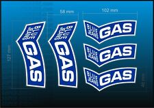 Classic BLUE JEANS GAS decal kit sticker Aufkleber adhesivo HONDA CBR VTR VFR