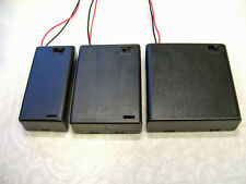 4 X Aaa Battery Box Holder Con Interruptor Hobby Modelo Juguete