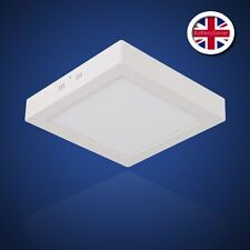 30cm Square Flat Surface Mount LED Panel Light - 4500K - 22W