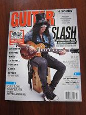 Guitar World July 2012 Slash Santana Jim Marshall Johnny Marr Lenny Kravitz