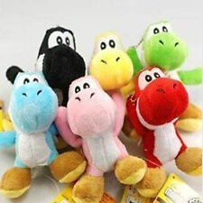 6 PC Super Mario Bros Brothers Yoshi 5` Doll Plush New