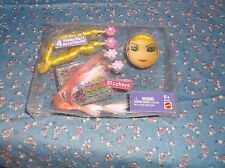ksm.   Mattel 80122 4 Funky Hair extensions Stickers  ? Barbie Missng Part Packa