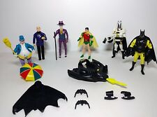 Batman & Robin DC Action Figures Joker Penguin Lex Luthor 1989 - 90 Deep Dive