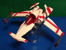 Custom Lego Star Wars Old Republic Victory Class Star Fighter, With Jedi!