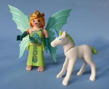 Playmobil Fairy Queen Princess Lady & Unicorn - for Palace Fantasy Magic