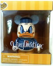 "DISNEY VINYLMATION 3"" SPORTS MASCOT DONALD DUCK FOOTBALL COLLECTIBLE TOY FIGURE"