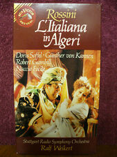 Rossini Opera L'Italiana in Algeri VHS Video Stuttgart Radio Symphony Orchestra
