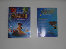 DISNEYS THE LITTLE MERMAID II 2 Return To The Sea 1st ISSUE MOVIE DVD VAULT 2000