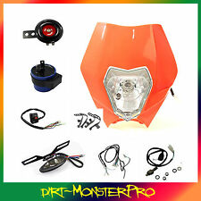 12v REC REG Lighting Kit Honda Yamaha Suzuki Kawasaki Enduro Dirt/Pit/Trail Bike