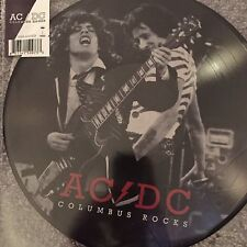 AC/DC - Columbus Rocks - New limited picture disc Vinyl Lp