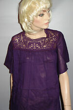 Tommy & kate blouse womans violet taille 20-22 neuf
