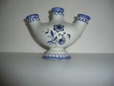 Vase / bouquetiére HENRIOT Quimper France signé en céramique