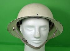 Vintage Cold War CIVIL DEFENSE HELMET O.C.D. - w/chin strap & webbing - WWII