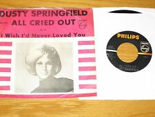 LOT of 2 60s ROCK 45 RPMs w/PICTURE SLEEVE- DUSTY SPRINGFIELD - PHILIPS LABEL