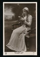Theatre Stage MARIE LOHR as Margaret in Faust c1900/20s? Tuck RP PPC