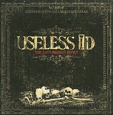 The Lost Broken Bones by Useless ID (CD, DVD & PAPER SLEEVE ONLY)
