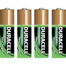 4.DURACELL AA PRECHARGED RECHARGEABLE NiMH 2000.mAh 1.2V Batteries  DX1500 JAPAN
