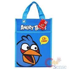Rovio Angry Birds Multipurpose Tote Bag : Blue Bird Tarpaulin Bag -Licensed