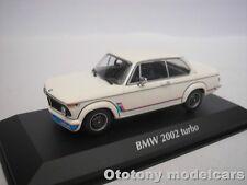 BMW 2002 TURBO 1973 BIANCO 1/43 MAXICHAMPS 940022201 NUOVO