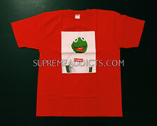 SUPREME KERMIT XL [DS - AUTHENTIC] RED TEE SHIRT XLARGE RAEKWON CDG BOX LOGO NEW