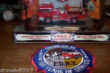 Code 3 Classic -  FDNY Fire - Engine-65, New York City + free fire patch