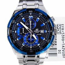Casio Edifice Men's Wristwatch - EFR-539 1A2V BLUE CHRONOGRAPH Watch