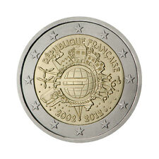 "France 2 Euro commemorative coin 2012 ""10 - years of Euro"" - UNC"