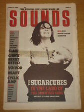 SOUNDS 1988 MAR 12 SUGARCUBES IRON MAIDEN TALKING HEADS