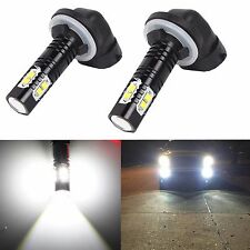 2x 881 H27W/2 LED Fog Light Nebelscheinwerf Headlight Running Bulb Driving lamp