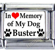 In Loving Memory Of My Dog Custom Name 9mm Italian Photo Charm New