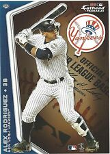 ALEX RODRIGUEZ NEW YORK YANKEES FATHEAD TRADEABLES 2010 REMOVABLE STICKER #96