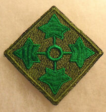 1940/50'S GERMAN MADE 4TH INFANTRY DIVISION OPEN WEAVE WHITEISH BACK