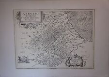 ABRUZZO ULTERIOR REGIONE REGNO NAPOLI Magini ristampa anastatica 1974 Zanichelli