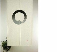 JAPANESE Noren Curtain Circle OW WHITE MADE IN JAPAN NEW