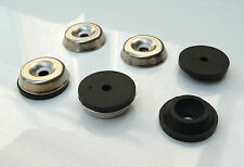 Metal Rubber Feet set for Fender Blackface Amplifier Cabinet Sphynx Glide Sphinx