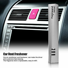 Car Air Conditioner Vent Freshener Fragrance Perfumes  Natural Smell Silver